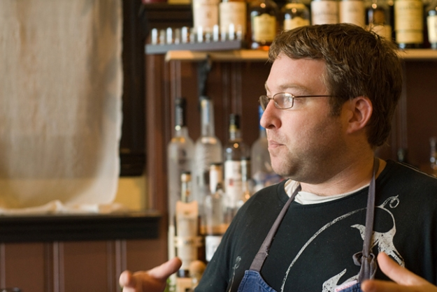 Erik Desjarlais, chef and owner of Evangeline.
